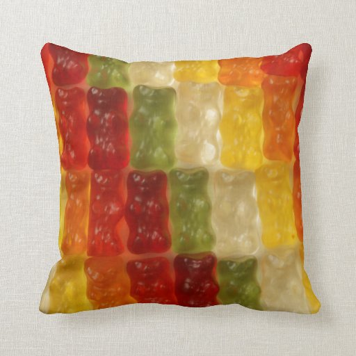 united gummy bear eaters pillows