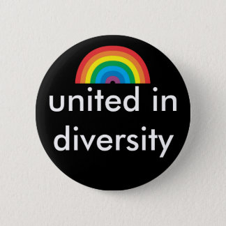 united in diversity 2 inch round button