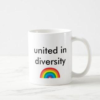 united in diversity coffee mug