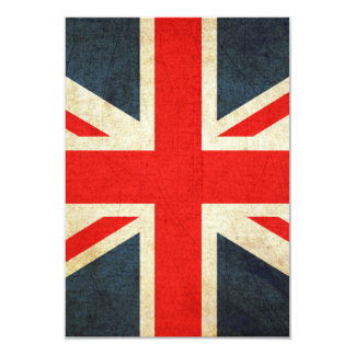 "United Kingdom 3.5"" X 5"" Invitation Card"