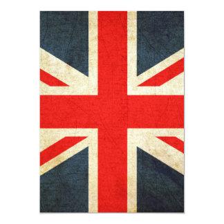 "United Kingdom 5"" X 7"" Invitation Card"