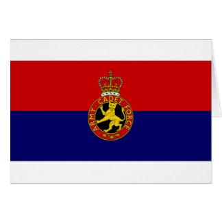 United Kingdom Army Cadet Force Flag Card