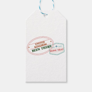United Kingdom Been There Done That Pack Of Gift Tags