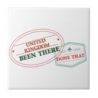 United Kingdom Been There Done That Tile
