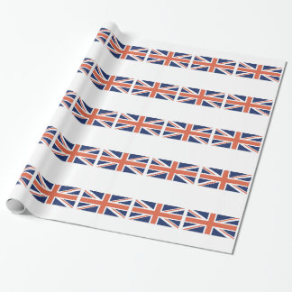 United Kingdom British Flag Union Jack Wrapping Wrapping Paper