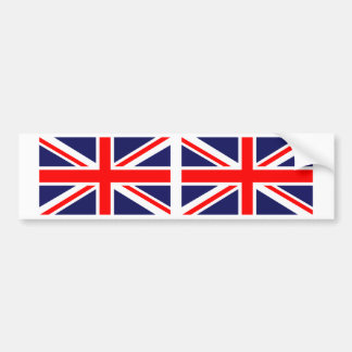 United Kingdom British Union Jack Flag Bumper Sticker