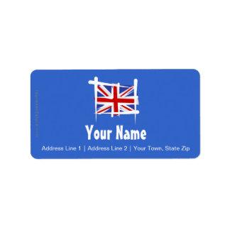 United Kingdom Brush Flag