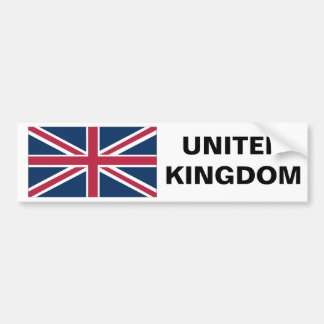 UNITED KINGDOM BUMPER STICKER