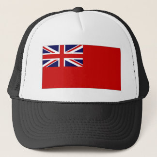 United Kingdom Civil Ensign Red Duster Flag Trucker Hat