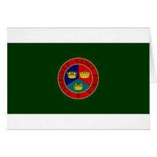 United Kingdom Combined Cadet Force Flag Card