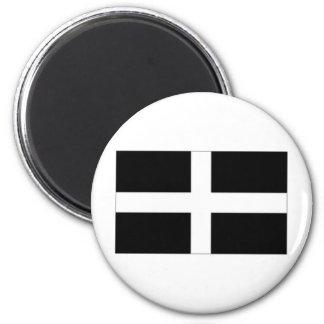 United Kingdom Cornwall Flag 2 Inch Round Magnet