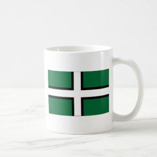 United Kingdom Devon Flag Coffee Mug