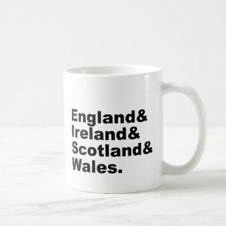 United Kingdom | England Ireland Scotland Wales Coffee Mug