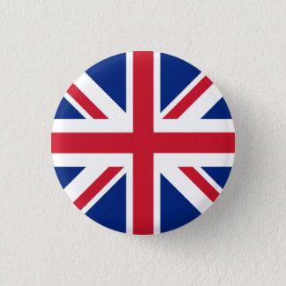 United Kingdom Flag 1 Inch Round Button