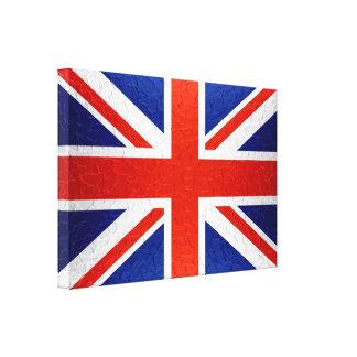 United Kingdom Flag 2 Canvas Print