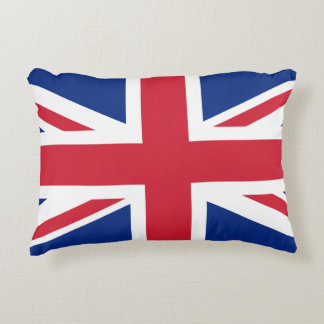 United Kingdom flag Accent Pillow