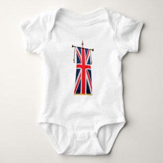 United Kingdom Flag Baby Bodysuit