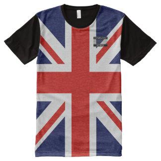 United Kingdom Flag Blue Red White T-Shirt