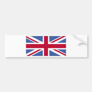 UNITED KINGDOM FLAG BUMPER STICKER