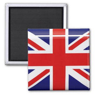 United Kingdom Flag Button Magnet