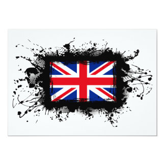 United Kingdom Flag Card