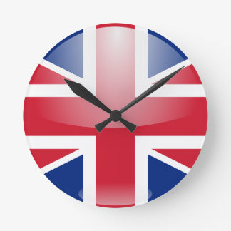 United Kingdom Flag Clocks