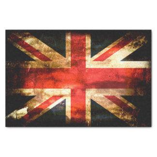 United Kingdom Flag Grunge Tissue Paper
