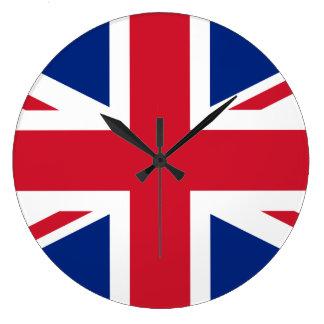 United Kingdom Flag Large Clock