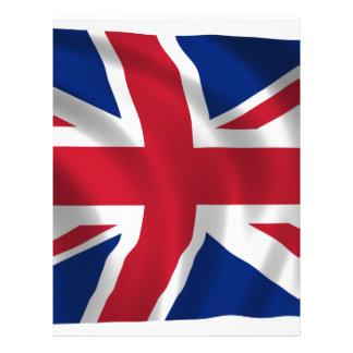 united-kingdom-Flag Letterhead