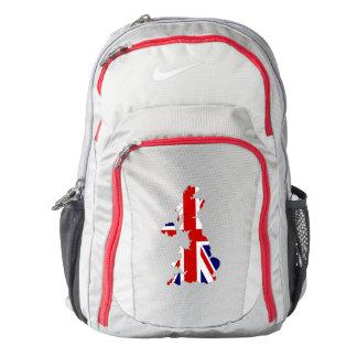 United Kingdom Flag/Map