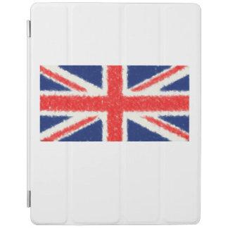 United Kingdom Flag Oil Painting iPad Cover