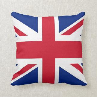 United Kingdom Flag on American MoJo Pillow