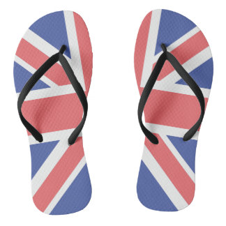 United Kingdom Flag Pair of-Flip Flops Flip Flops