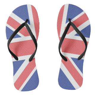 United Kingdom Flag Pair of-Flip Flops Flip Flops