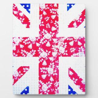 United Kingdom Flag Plaque