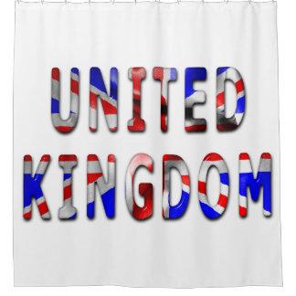 United Kingdom Flag Shower Curtain