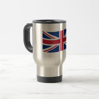 United Kingdom Flag Travel Mug