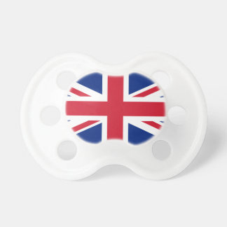 United Kingdom flag Union Jack Pacifier