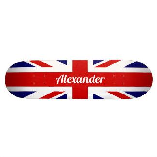 United Kingdom Flag / Union Jack   Personalised Skateboard