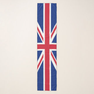 United Kingdom flag Union Jack Scarf