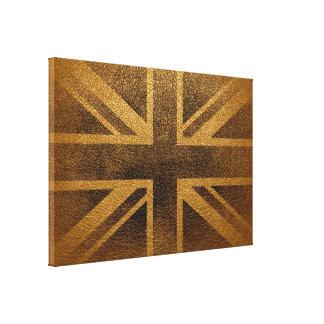 United Kingdom Flag Vintage #3 Canvas Print