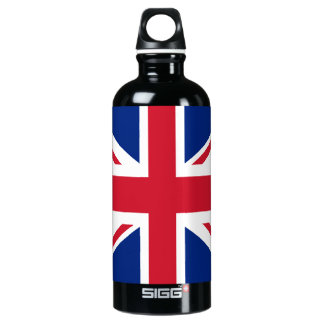 United Kingdom Flag Water Bottle