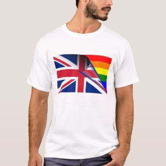United Kingdom Gay Pride Rainbow Flag T-Shirt