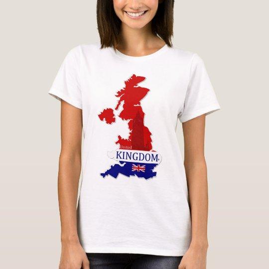 United Kingdom Map Designer Shirt Apparel Him Hers