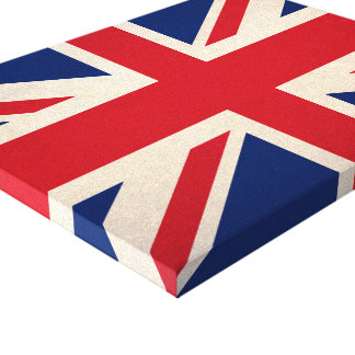 United Kingdom national flag Canvas Print