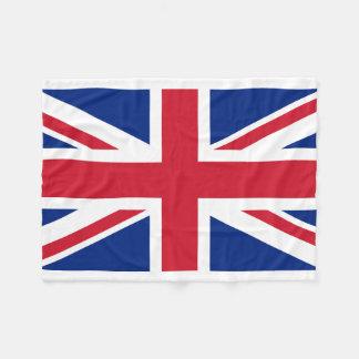 United Kingdom National World Flag Fleece Blanket