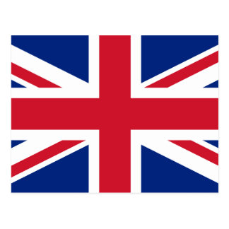 United Kingdom National World Flag Postcard