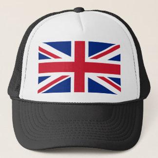 United Kingdom National World Flag Trucker Hat
