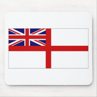 United Kingdom Naval Ensign White Ensign Mouse Pad
