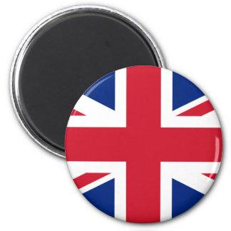 United Kingdom of Great Britain 2 Inch Round Magnet